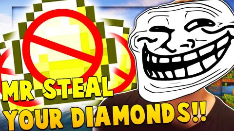 MR STEAL YOUR DIAMONDS - Minecraft Money Wars 1.9 SOLO #23