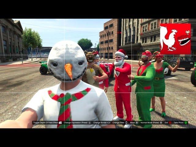 Things to do in GTA V - Bad Santa