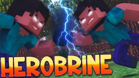 Minecraft: SURVIVAL JUNGLE - #02 HEROBRINE VS. HEROBRINE