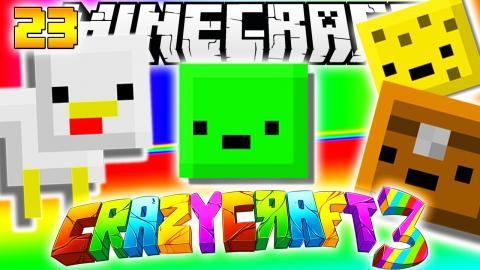 Minecraft CRAZY CRAFT 3.0 - CUTE PETS MOD #23