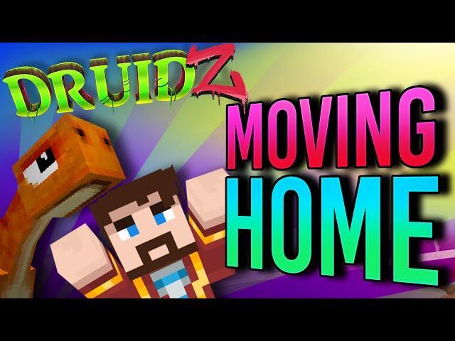 Minecraft Druidz #18 - Moving Home