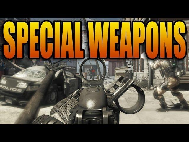 Call of Duty: Ghosts - Special Recoil Weapons! Increased & Reduced Kick (COD Ghost Multiplayer Guns)