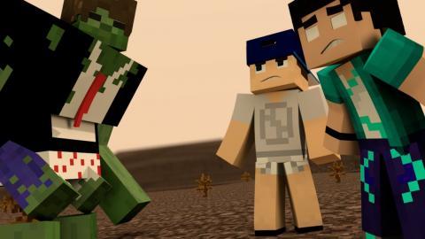 Minecraft: PARAÍSO - #160 O DESERTO SEM FIM