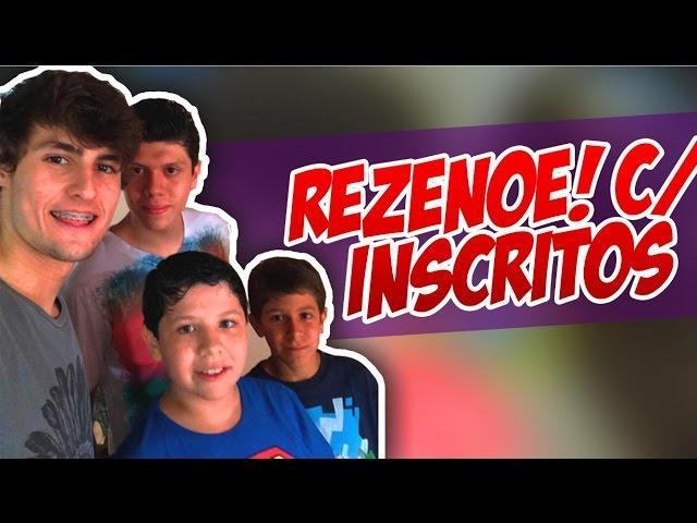 Minecraft - REZENOÉ #71 REZENOÉ COM INSCRITOS EM CASA! :D