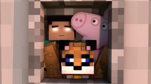 Minecraft - RESGATAMOS A PEPPA! [78] Meu Amável Mundo!