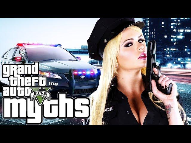 GTA 5 Myths (Mrs. Officer, BREAKING BAD Car Wash, Old Yeller, and More!)