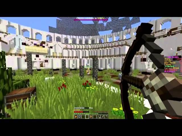 Minecraft: Hunger Games w/Mitch! Game 543 - STUCK IN CANADA!