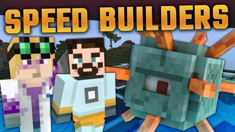 Minecraft Minigames - Speed Builders - Flags and Hammers!