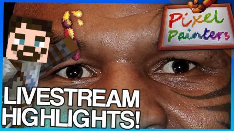Minecraft Pixel Painters - Livestream Highlights