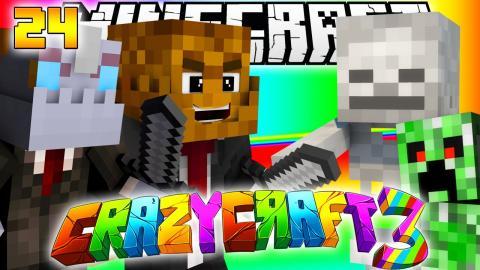 Minecraft CRAZY CRAFT 3.0 - INSANE DUNGEONS MOD #24 w/ Nooch