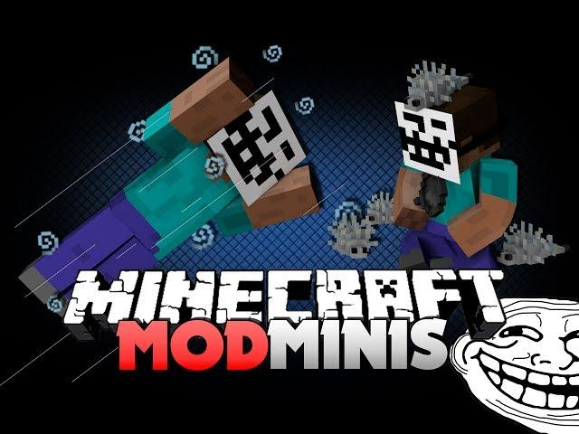 Minecraft Mod Minis 8 - HOW TO USE PUN ITEMS (TROLL ITEMS)
