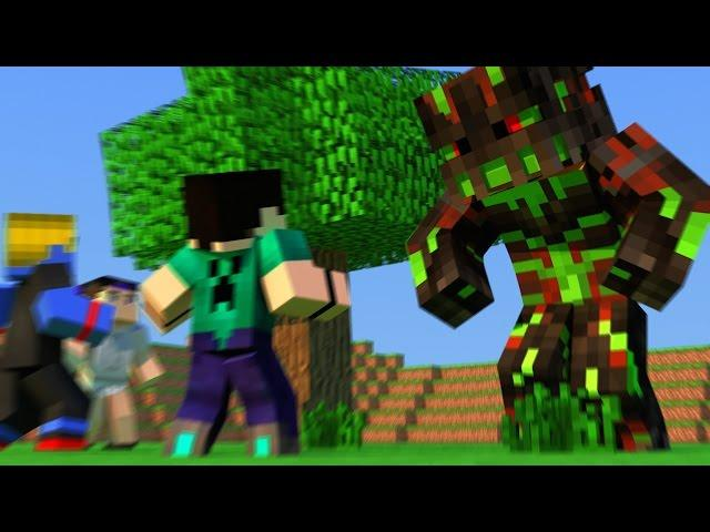 Minecraft - PARAÍSO - #21 O MONSTRO QUER NOS MATAR!