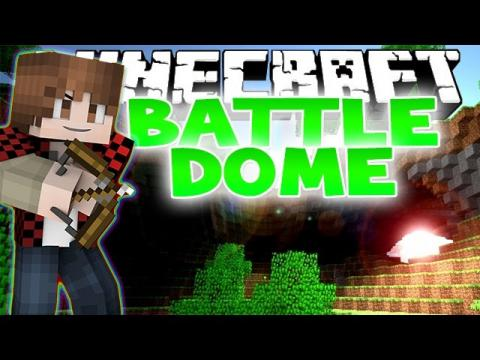 Minecraft: Battle-Dome with The Pack & Friends! (PVP Mini-Game)