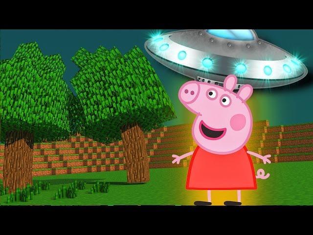 Minecraft - PEPPA PIG FOI ABDUZIDA POR E.T.S [61] Meu Amável Mundo!