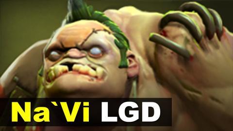 Dendi Pudge - Na`Vi vs LGD - Starladder 13 Dota 2