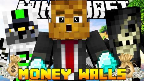 "Minecraft MONEY WALLS ""FULL DIAMOND ARMOR"" #3 w/ NadeShot & AcidicBlitzz"