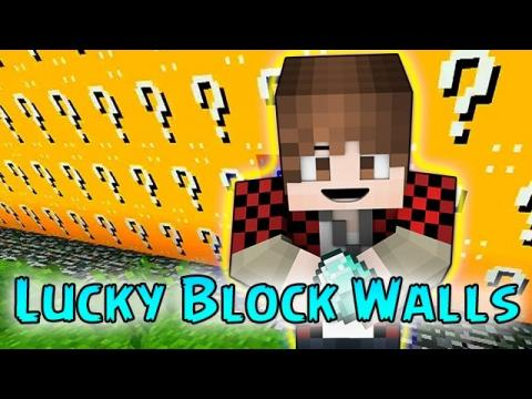 Minecraft: LUCKY BLOCKS THE WALLS MODDED MINI-GAME! (PVP Challenge)