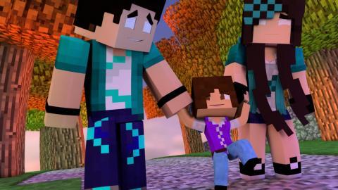 Minecraft: VIDA REAL ESPECIAL - #67 O CRESCIMENTO DA RAFA! - Comes Alive Mod