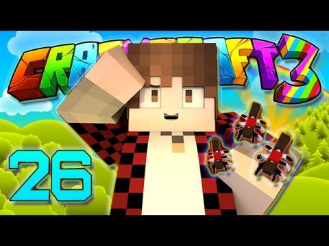 Minecraft Crazy Craft 3.0: MAKING OUR ANT FARM DIMENSION TELEPORTS! #26 (Modded Roleplay)