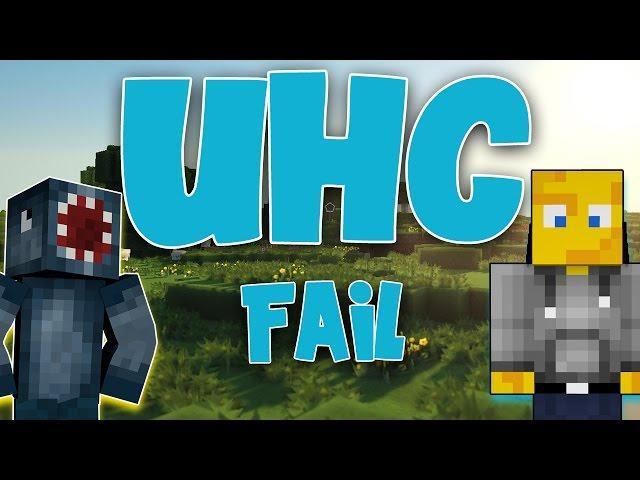 Squiddy Sundays - Minecraft Ultra Hardcore FAIL! W/AshDubh