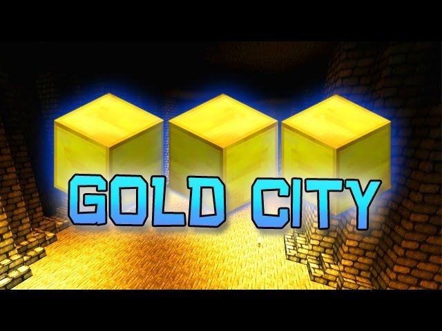 Minecraft: GOLDEN CITY CUSTOM CHALLENGE MAP!