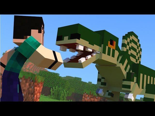 Minecraft - DINOCRAFT! #12 NASCEU O PRIMEIRO DINOSSAURO!