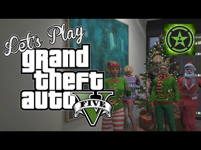 Let's Play - GTA V - Santa's Delivery Service