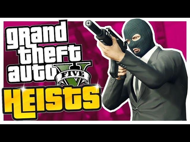 GTA 5 Heist - The Fleeca Job (Part One)
