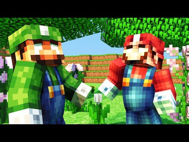 Minecraft Mods - MORPH HIDE AND SEEK - MARIO BROS MOD
