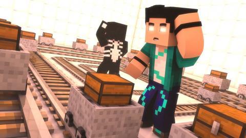 Minecraft: DESAFIOS COM VENOM! #05 - MUITA CONFUSAO!