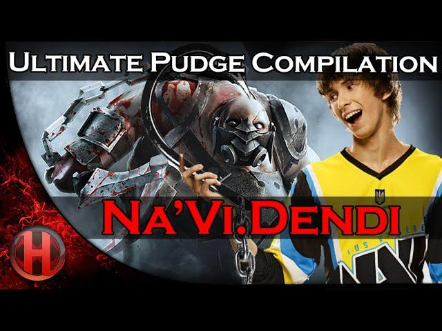 Na'Vi.Dendi Ultimate Pudge Compilation | Dota 2 Gameplay