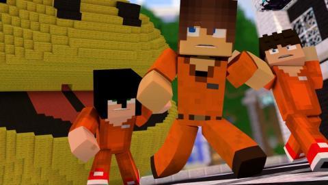Minecraft: PIXELS (POLÍCIA E LADRÃO)