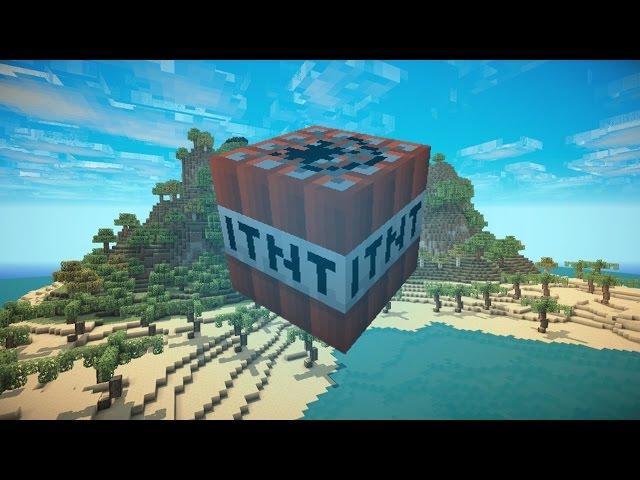 Minecraft DROPPING TNT BOMBS
