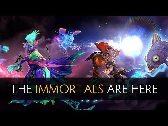 Compendium Immortal Items: Warlock Dragon Knight Rare Immortals Dota 2