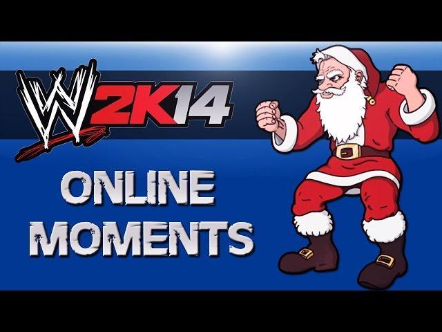WWE 2K14 - Santa Vs The Grinch!