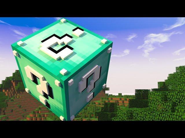Minecraft - CUBO DE LUCKY BLOCK DIAMANTE! MINI GAME PVP