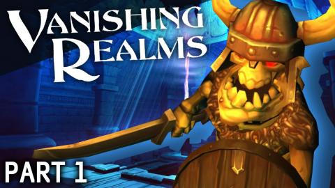 Vanishing Realms VR Gameplay #1 - Into The Dungeon!
