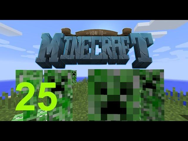 """Minecraft: SMP HOW TO MINECRAFT #25 """"SUPER CHARGED CREEPER CAGE"""" with JeromeASF"""
