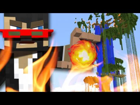 Minecraft: FIRE BENDING - Jerry's Lab
