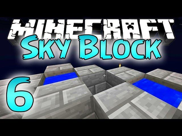 Minecraft: SkyBlock Survival Episode 6 - Ultra Cobble Generator!