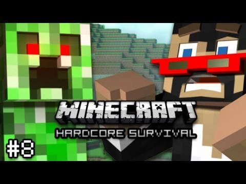 Minecraft: Hardcore Survival Let's Play Ep. 8 -  HOW IS THIS EVEN POSSIBLE?!