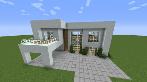 Minecraft para so 2 07 a casa fantasma for Casa moderna minecraft xbox 360