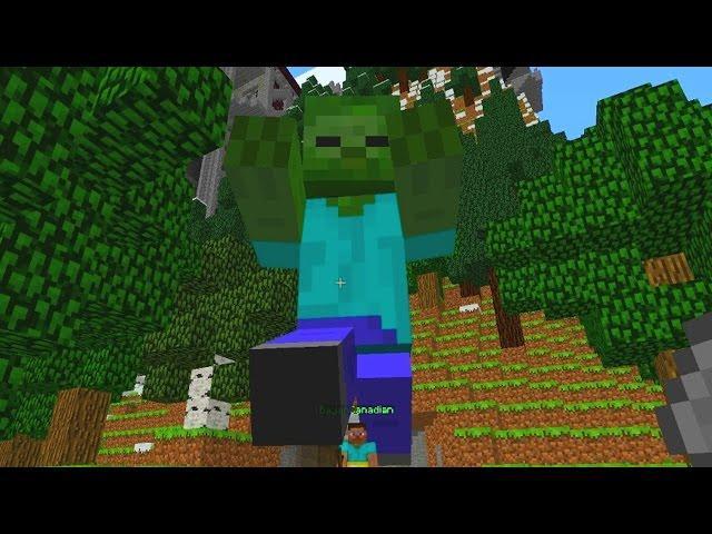 JeromeASF The Friendly Giant (Minecraft)