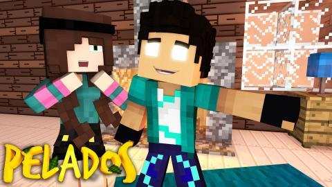 Minecraft : PELADOS! - #158 VIDA REAL COM FLOKIIS !!
