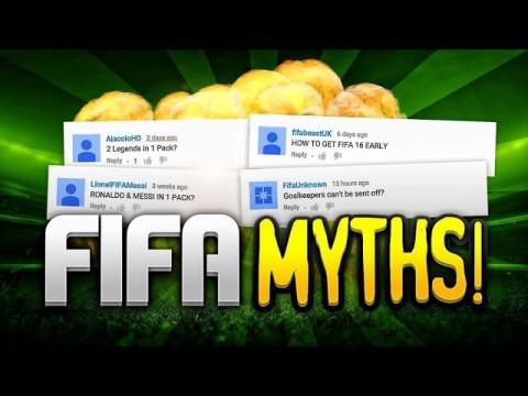 FIFA MYTHS!