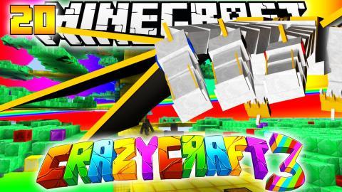 Minecraft CRAZY CRAFT 3.0 - DUPLICATOR TREES + GOODNESS TREE #20