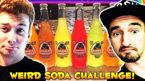 SODA Drinking Challenge BLINDFOLDED (WASABI PUNISHMENT)