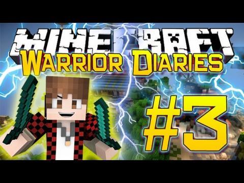 Minecraft Warrior Diaries - Hunger Games Blitz Survival on Hypixel (Episode 3)