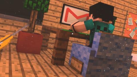 Minecraft: CHERNOBYL - #01 UM E-MAIL CURIOSO!