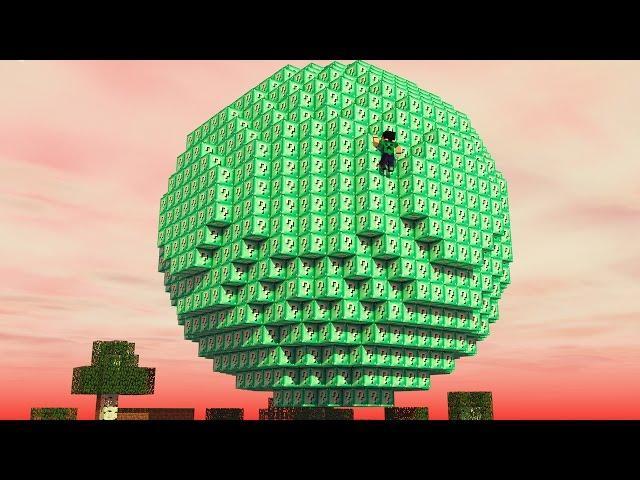Minecraft - BOLA DE LUCKY BLOCK DIAMANTE!! - NOVO MINI GAME PVP!